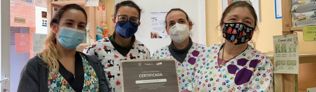 Cvetmarina certificat CEWAC benestar animal