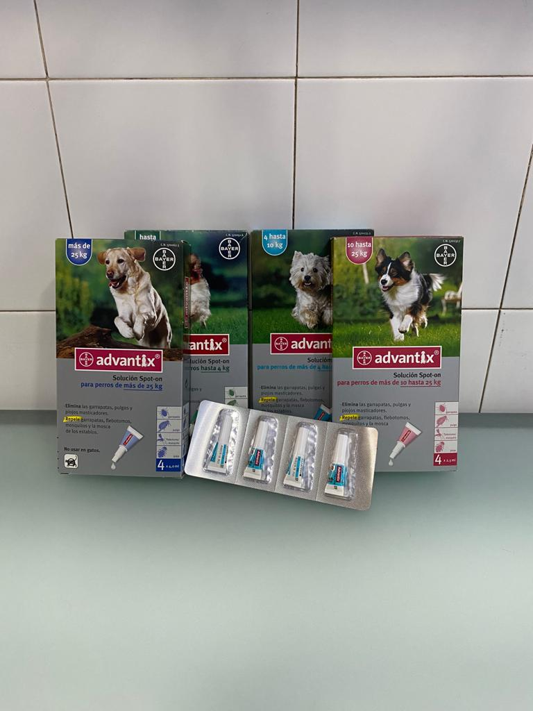 Advantix a Clinica Veterinaria Marina